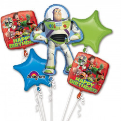 TOY STORY 5 BALLOON BOUQUET P75 PKT