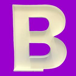 LETTER B MOSAIC BALLOON FRAME (100cm)