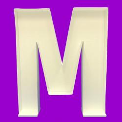 LETTER M MOSAIC BALLOON FRAME (100cm)