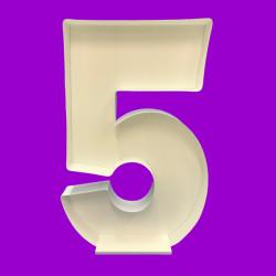 NUMBER 5 MOSAIC BALLOON FRAME (120cm)