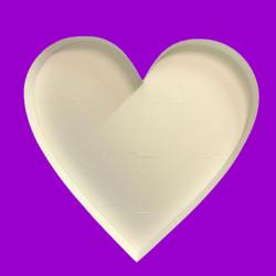 HEART MOSAIC BALLOON FRAME (120cm)