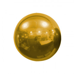 "BRONZE 25cm/10"" MIRROR GLOBE FOIL BALLOON"