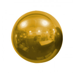 "BRONZE 40cm/16"" MIRROR GLOBE FOIL BALLOON"