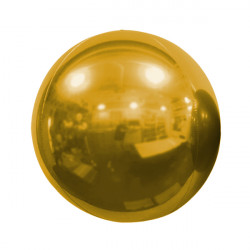 "BRONZE 50cm/20"" MIRROR GLOBE FOIL BALLOON"