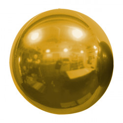 "BRONZE 61cm/24"" MIRROR GLOBE FOIL BALLOON"