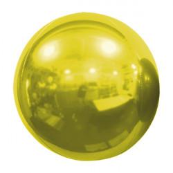 "GOLD 61cm/24"" MIRROR GLOBE FOIL BALLOON"