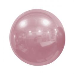 "PINK PEARL 50cm/20"" MIRROR GLOBE FOIL BALLOON"