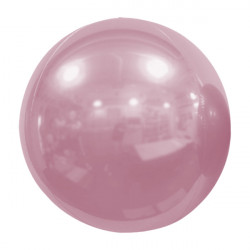 "PINK PEARL 61cm/24"" MIRROR GLOBE FOIL BALLOON"