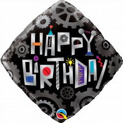 "ROBOT COGWHEELS BIRTHDAY 18"" PKT IF"