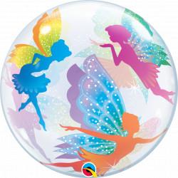 """MAGICAL FAIRIES & SPARKLES 22"""" SINGLE BUBBLE YRV"""