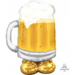 "BEER MUG BIG P70 AIRLOONZ PKT (31"" X 49"")"