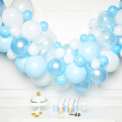 BLUE DIY GARLAND BALLOON KIT (CONTAINS 70 BALLOONS)