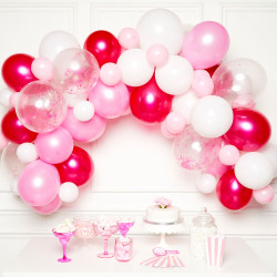 PINK DIY GARLAND BALLOON KIT (CONTAINS 70 BALLOONS)