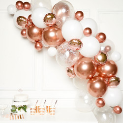 ROSE GOLD DIY GARLAND BALLOON KIT (CONTAINS 66 BALLOONS)