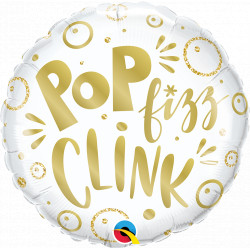 "POP FIZZ CLINK 18"" PKT IF"