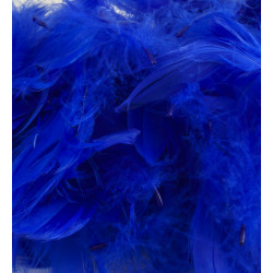 ROYAL BLUE ELEGANZA FEATHERS MIXED SIZES 50G