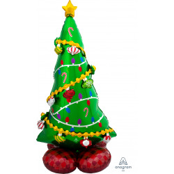 "CHRISTMAS TREE P70 AIRLOONZ PKT (31"" X 59"")"