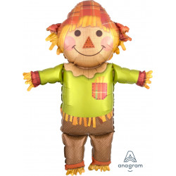 "FALL HAPPY SCARECROW SHAPE P35 PKT (27"" x 38"")"