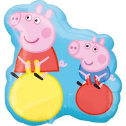 "PEPPA PIG & GEORGE SHAPE P38 PKT (21"" x 22"")"