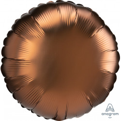 COCOA SATIN LUXE ROUND STANDARD S15 FLAT A