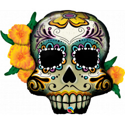 "DAY OF THE DEAD SKULL 38"" SHAPE GROUP C YZP"