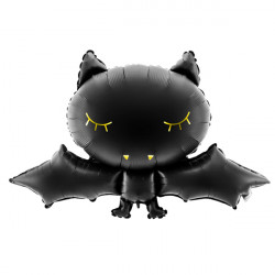 BLACK BAT SHAPE 80cm X 52cm PKT