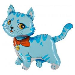 "CAT BLUE 14"" MINI SHAPE FLAT"