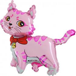 "CAT PINK 14"" MINI SHAPE FLAT"