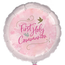 FIRST HOLY COMMUNION PINK STANDARD S40 PKT