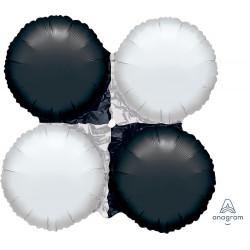 BLACK & WHITE MAGICARCH SMALL 33cmX33cm A50 FLAT