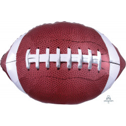 "GAME TIME FOOTBALL SHAPE P30 PKT (31"" x 20"")"