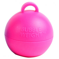 HOT PINK 35G BUBBLE WEIGHT PACK (25)