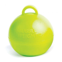LIME GREEN 35G BUBBLE WEIGHT PACK (25)