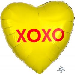 CANDY HEART XOXO STANDARD S40 PKT