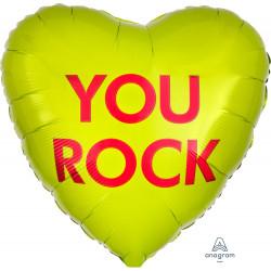 CANDY HEART YOU ROCK STANDARD S40 PKT