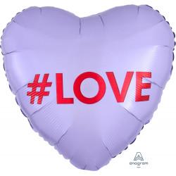 CANDY HEART #LOVE STANDARD S40 PKT