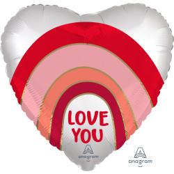 RAINBOW LOVE YOU STANDARD S40 PKT