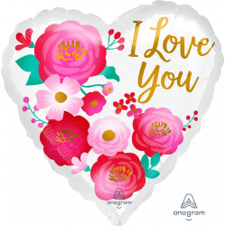 OMBRE FLOWERS LOVE YOU STANDARD S40 PKT
