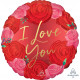 CIRCLED IN ROSES I LOVE YOU STANDARD S40 PKT