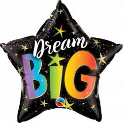 "RAINBOW STARS DREAM BIG 20"" PKT IM"