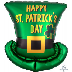 "ST. PATRICK'S DAY HAT SHAPE P35 PKT (21"" x 24"")"