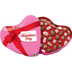 "CANDY BOX VALENTINE'S DAY 39"" SHAPE GROUP D PKT YMF"