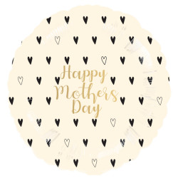 HEART PATTERN HAPPY MOTHER'S DAY STANDARD S40 PKT