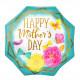 "GOLD TRIM OCTAGON HAPPY MOTHER'S DAY JUMBO P32 PKT (28"" x 28"")"