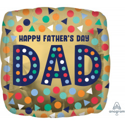 DAD HAPPY FATHER'S DAY STANDARD S40 PKT