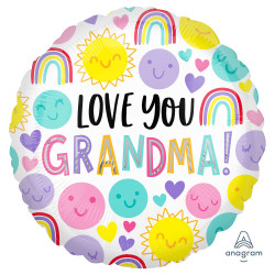 GRANDMA LOVE YOU  STANDARD S40 PKT
