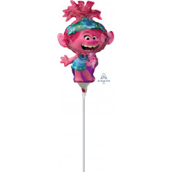 TROLLS WORLD TOUR POPPY MINI SHAPE A30 FLAT