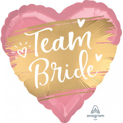 TEAM BRIDE GOLD SATIN STANDARD S40 PKT