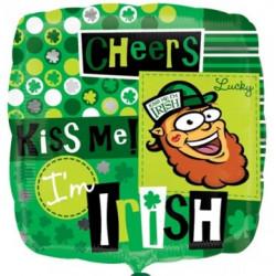 KISS ME I'M IRISH STANDARD S40