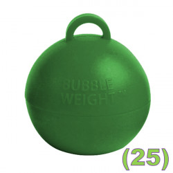 JUNGLE GREEN 35G BUBBLE WEIGHT PACK (25)